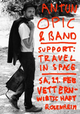 Antun Opic und travel in space